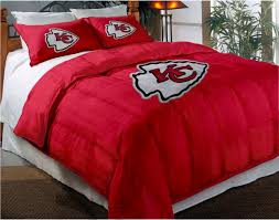86 X 86 Comforter Kansas City Chiefs Nfl Twin Chenille Embroidered Comforter Set