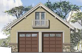 Garage With Loft G121 Rear Story Two Car Garage With Loft Storage Taylor Made Plan