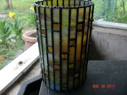 Stained Glass Vase Buy Handmade Picture Window Vase Or Candle Holder In Stained Glass