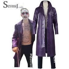 Halloween Joker Costume Compare Prices On Dc Joker Costume Online Shopping Buy Low Price