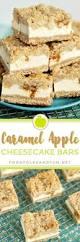 best 25 caramel apple cheesecake bars ideas on pinterest apple