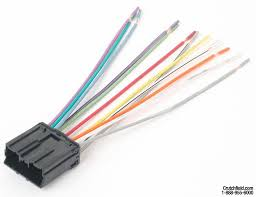 metra 70 7001 receiver wiring harness connect a new car stereo in