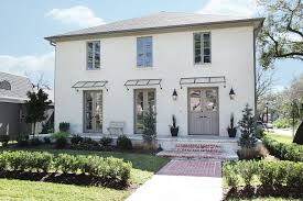 Gray Walls With White Trim by Exterior Tile Roof Design With Cool White House With Grey Trim