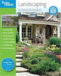 Home And Yard Design Software Amazon Com Better Homes And Gardens Landscaping And Deck Designer
