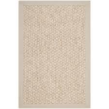 chunky basketweave marble ivory taupe sisal rug overstock com
