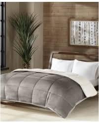 Down Alternative King Comforter Great Deals On Premier Comfort Reversible Micro Velvet And Sherpa