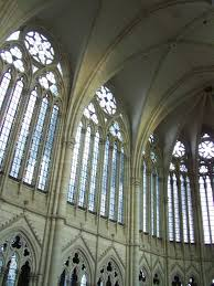 Amiens Cathedral Floor Plan Eurotravelogue Artodysseys The Emergence Of Gothic Architecture
