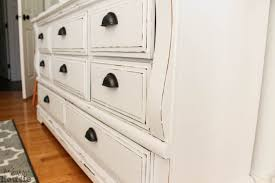 Distressing Diy by White Distressed Dresser Makeover So Much Better With Age