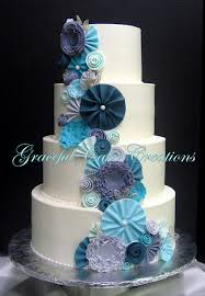 wedding cake fondant white floral cake the twisted sifter