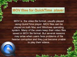 file format quicktime player how to fix broken header on quicktime mov files without failure