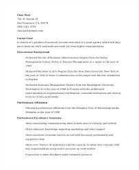 good resume for accounts executive responsibilities for marketing assistant account executive resume marketing account executive