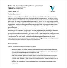 System Analyst Sample Resume by Sample Business Analysis Best Solutions Of Lead Business Analyst