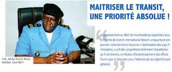 bureau de sortie douane le bureau de contrôle du transit douanes du mali