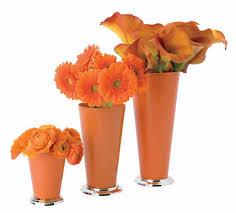 Mint Julep Vase Orange Mint Julep Vase Cup Vacuum Orna Metal