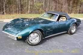 1970s corvette for sale 1970 corvette convertible for sale at buyavette atlanta