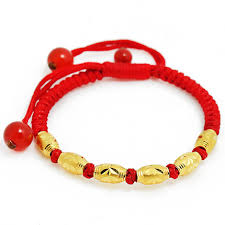 bracelet beads string images Buy 999 red ring transfer thousands of gold beads gold baby red jpg