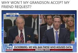 Friend Request Meme - why won t my grandson accept my friend request mark zuckerberg