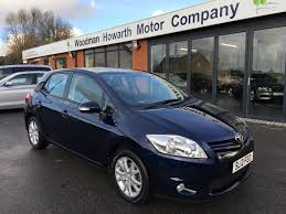 toyota company cars 2012 12 toyota auris 1 6 v matic colour collection 5 door manual