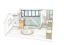 chambre avec salle d eau suite parentale avec salle de bain et dressing idee salle de bain
