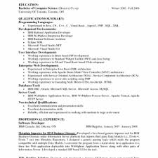 amazing sample resume for fresher software engineer free entry