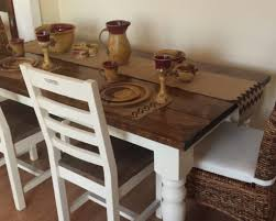 Dining Table White Legs Wooden Top Kitchen Table Kitchen Table White Legs Wood Top Dining Table