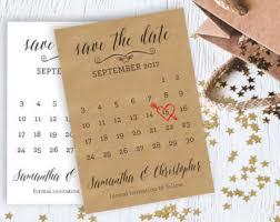 save the dates cheap save the date save the date calendar card printable wedding