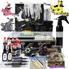 pro tattoo gun kits 3 guns professional tattoo machine kit 5ml