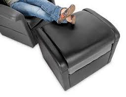 x rocker triple flip 2 0 storage ottoman sound chair black gray