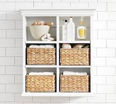 Shelving Units For Bathrooms Bathroom Wall Shelves Pottery Barn