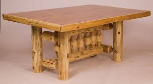 rustic log dining room tables the incredible adirondack dining table contemporary kingfuvi com