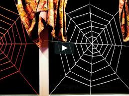 diy yarn spider web on vimeo