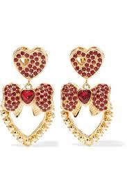 fabulous earrings dolce gabbana fabulous gold tone clip earrings humble