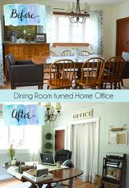 Office Dining Room Spring House Tour Harbour Breeze Home
