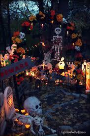 Dia De Los Muertos Halloween Decorations 17 Best Images About Lighthearted Boneyard On Pinterest Yard