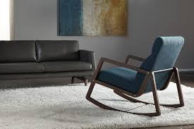 Living Room Rocking Chairs Nolan Rocking Chair Mid Century Modern Furniture Chairs
