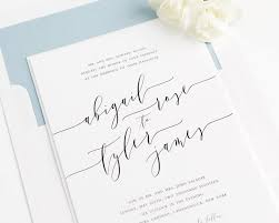 design your own wedding invitations alluring calligraphy wedding invitations to design your own
