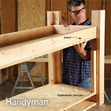 simple workbench plans family handyman