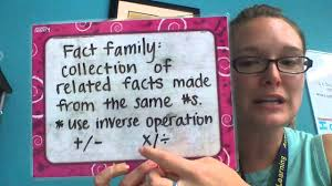 Fact Family Worksheets Multiplication U0026 Division Fact Families Youtube