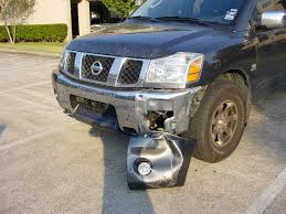 nissan armada yahoo answers banged up the front corner piece of bumper nissan titan forum