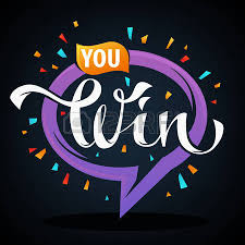 congratulation banner you win vector congratulation stickers emblems and banners