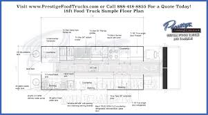 customizable floor plans custom food truck floor plan sles prestige custom food truck