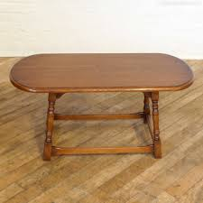 Vintage Coffee Tables antiques atlas vintage oak oval coffee table