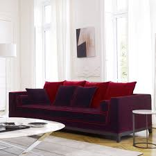 Contemporary Sofa  Leather  Fabric  By Antonio Citterio - Comtemporary sofas