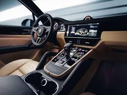 porsche panamera interior back seat new porsche cayenne is here for 2018 by car magazine