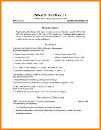 resume exles high school 7 exle high school resume precis format