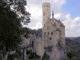 lichtenstein castle photos and map