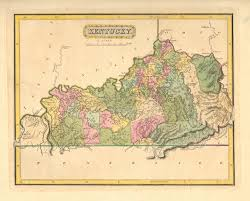 Ky Map Antique Maps Of Kentucky