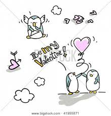 imagenes de amor con muñecos animados vector y foto dibujos animados de san valentín bigstock