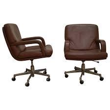fauteuil de bureau knoll paire de fauteuils de bureau knoll ées 70 design market