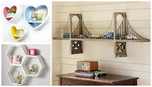 themed shelves wall decor ideas beautiful shelves designs for kids room my